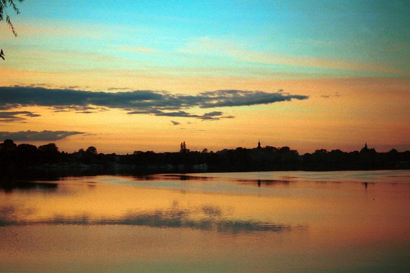 Abendsonne in Brandenburg / Havel
