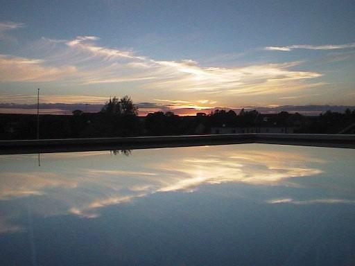 Abendsonne in Vimmerby (Schweden)
