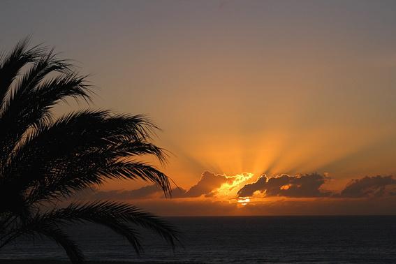 Abendsonne Türkei