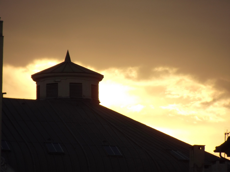 Abendsonne über Nizza