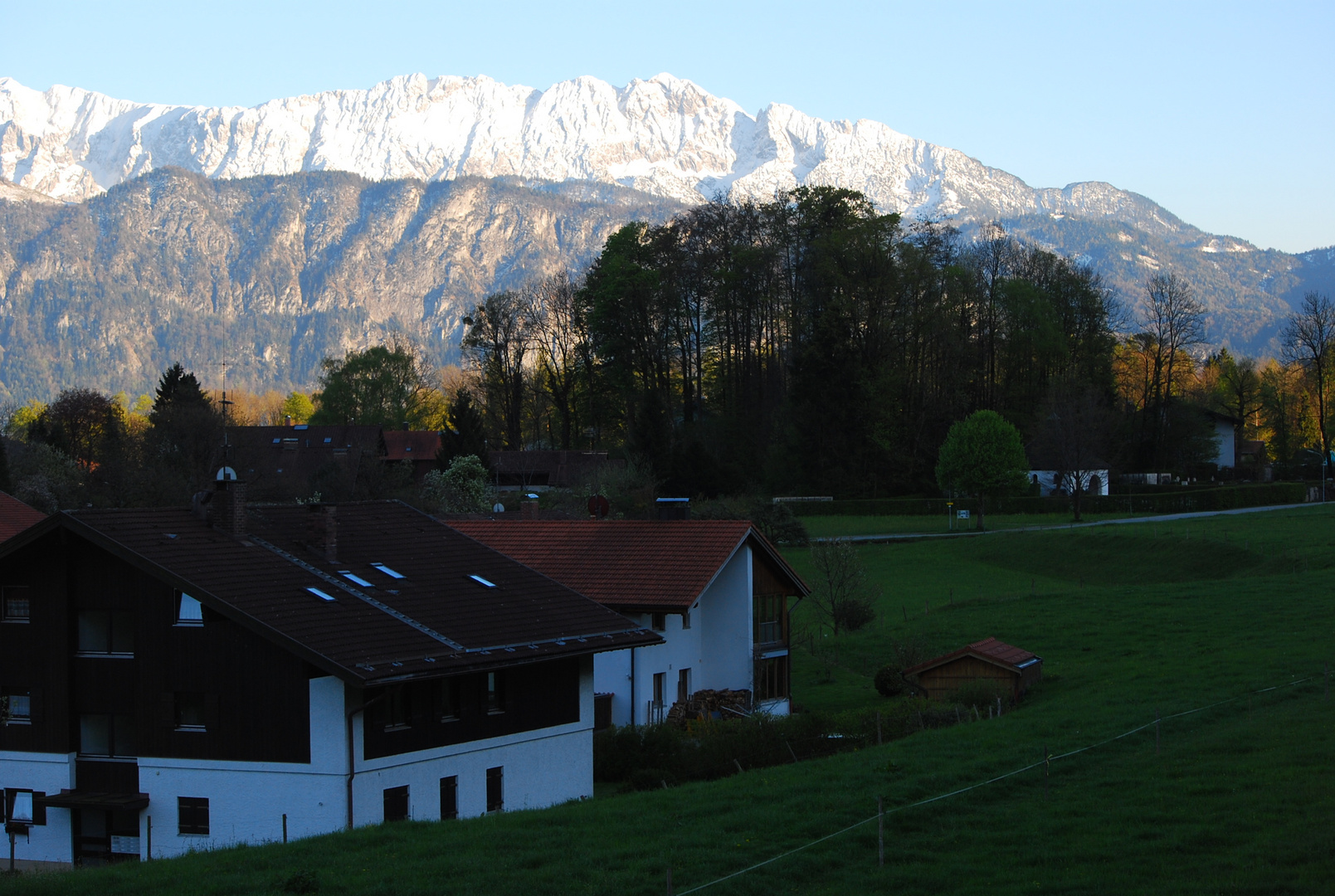 Abendsparziergang in Oberaudorf