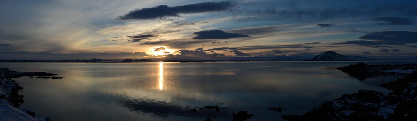 Abendstimmung am am Myvatn See
