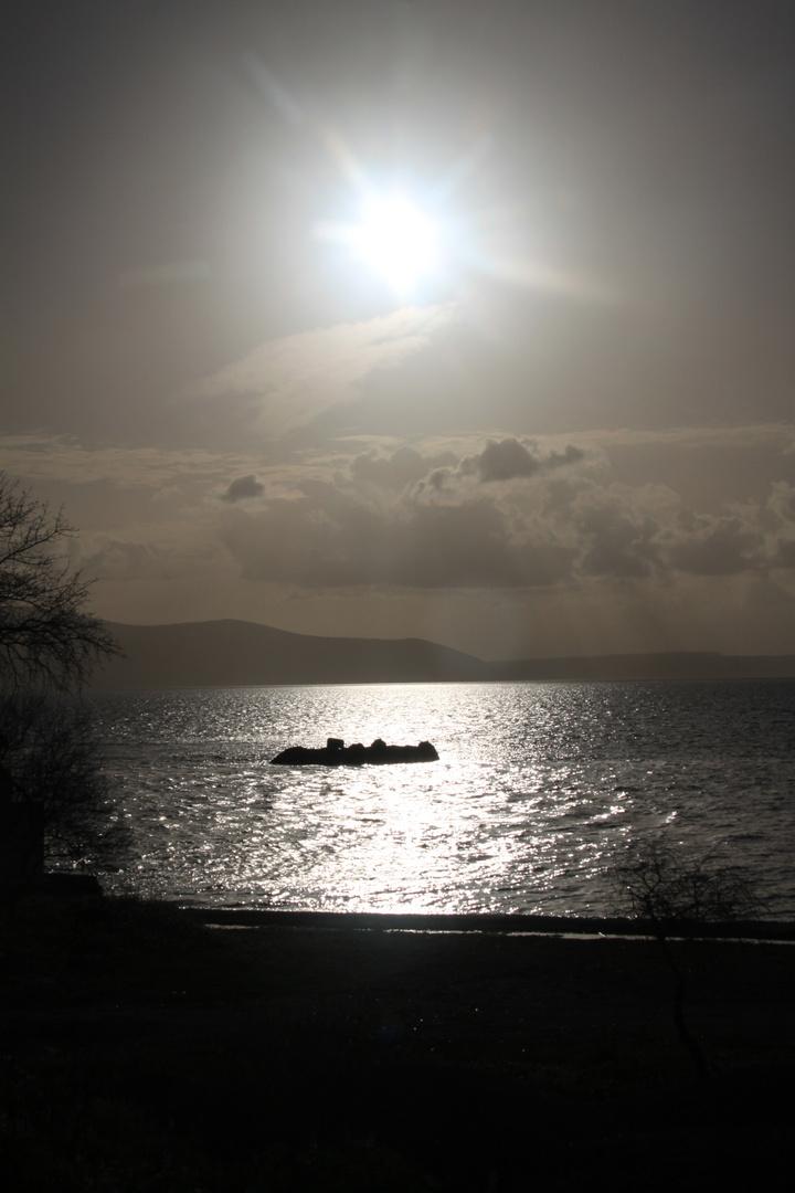 Abendstimmung am Bafa See