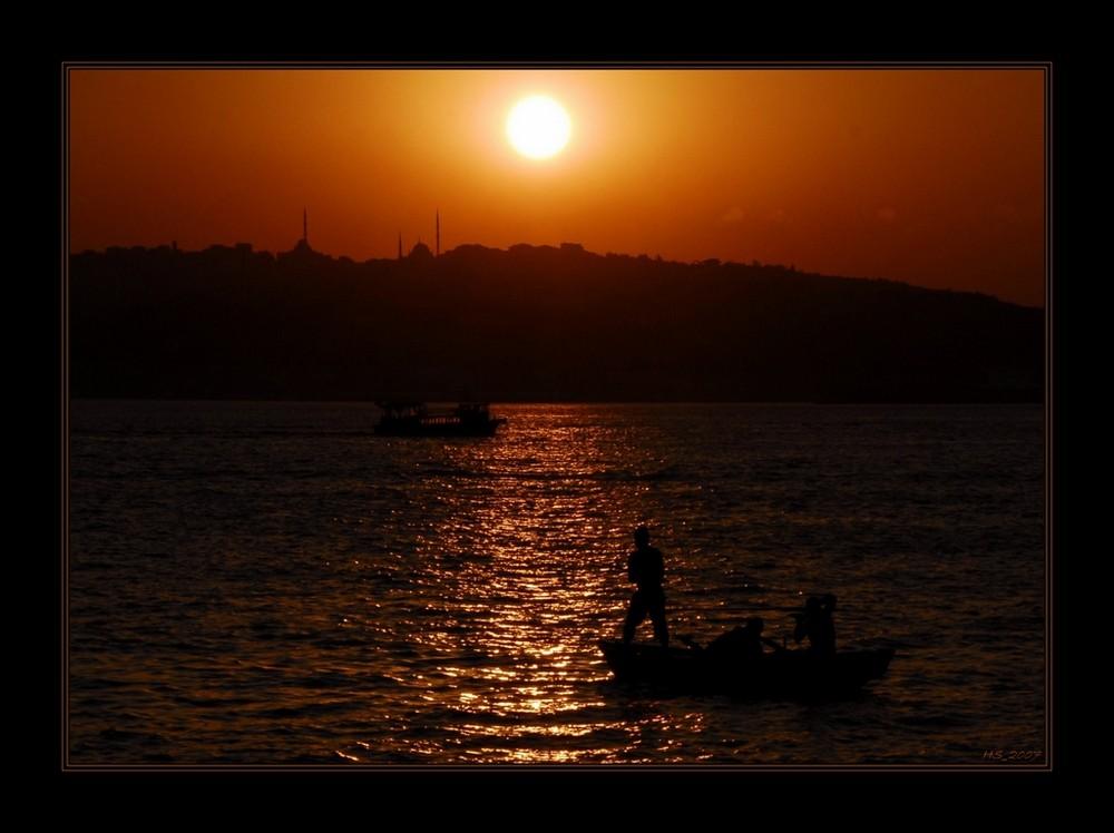 Abendstimmung am Bosphorus_02