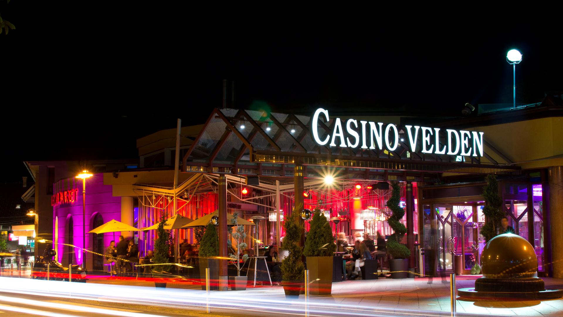 Abendstimmung am Casino