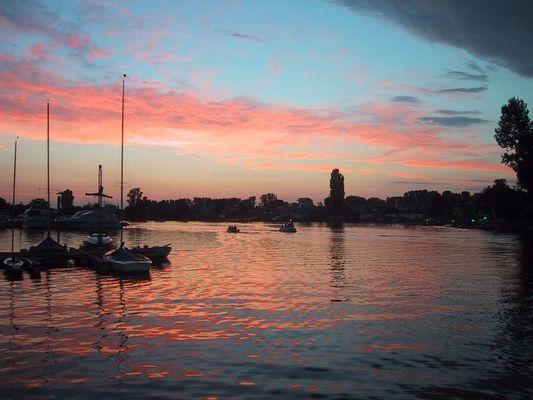 Abendstimmung am Eicher See
