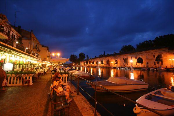 Abendstimmung am Garda See