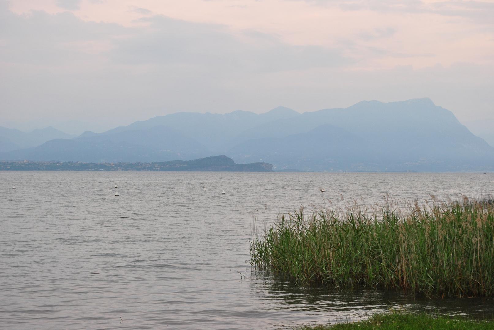 Abendstimmung am Gardasee
