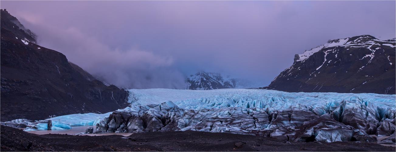 Abendstimmung am Gletscher II