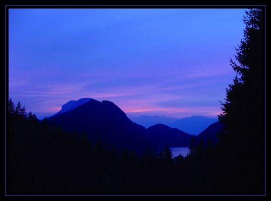 Abendstimmung am Hintersteiner See