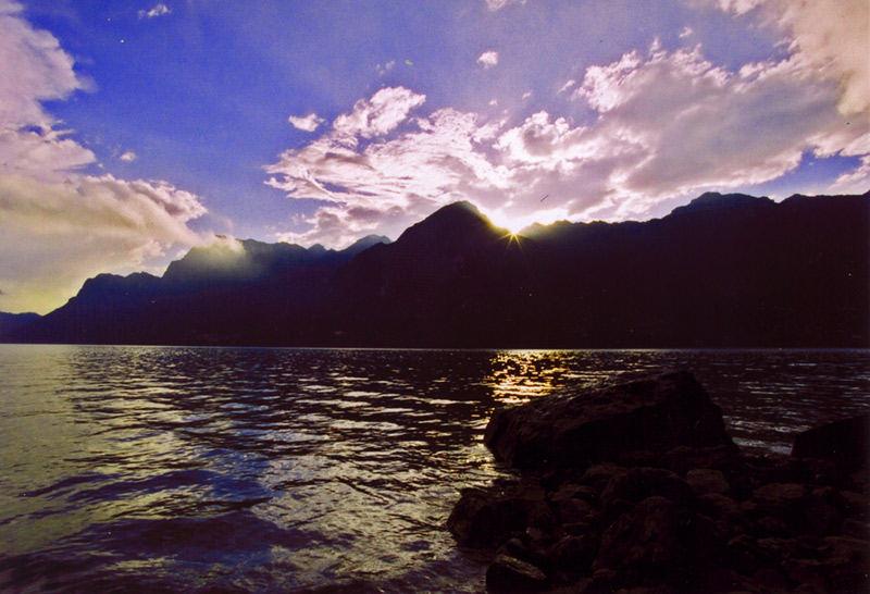 Abendstimmung am Lago d'Idro