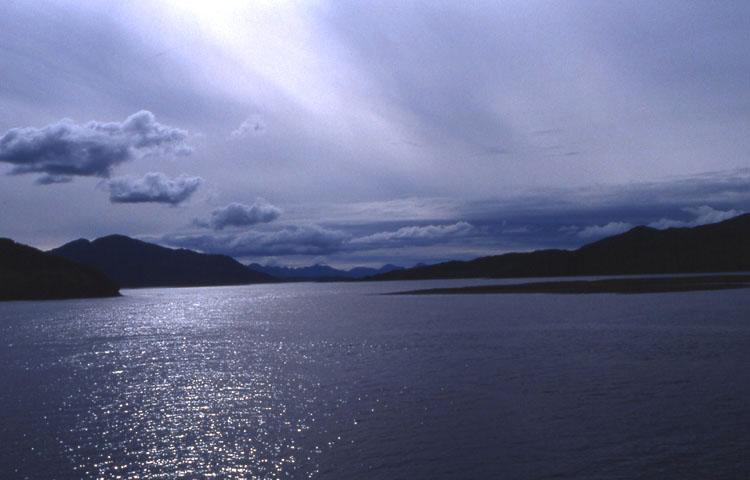 Abendstimmung am Loch Duich 01