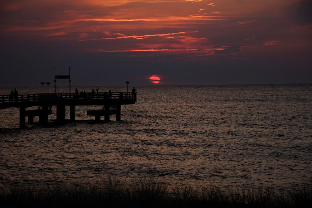 Abendstimmung am Meer II