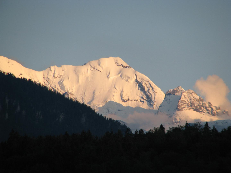Abendstimmung am Morgenhorn/Blümlisalp-Westgipfel/3627 m