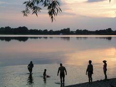 Abendstimmung am Pritzerber See