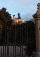 Abendstimmung am Schloss Birseck