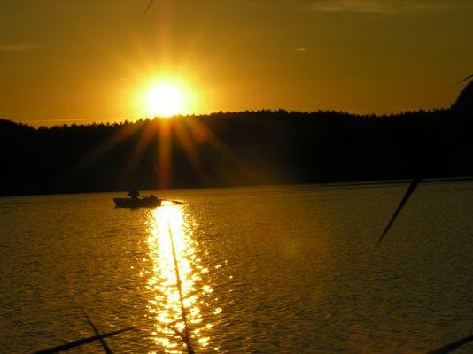 Abendstimmung am Seddiner See
