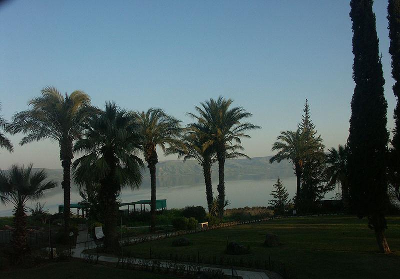 Abendstimmung am See Gennezaret