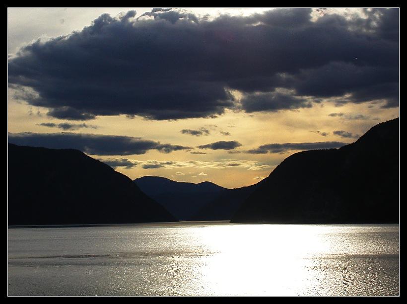 Abendstimmung am Sognefjord (reload)