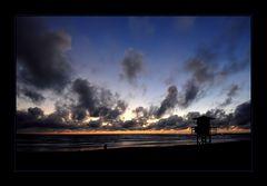 [ Abendstimmung am Strand von... ]