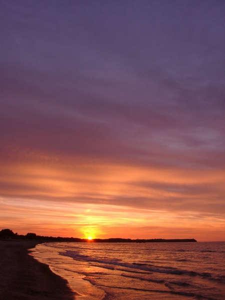 Abendstimmung am Strand von Boltenhagen (neu)