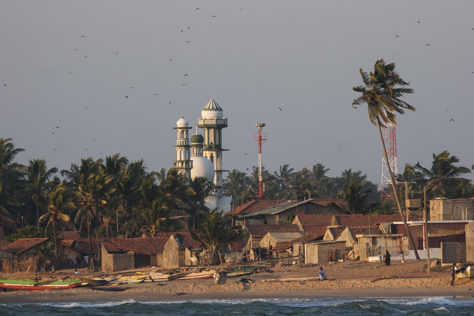 Abendstimmung am Strand von Negombo