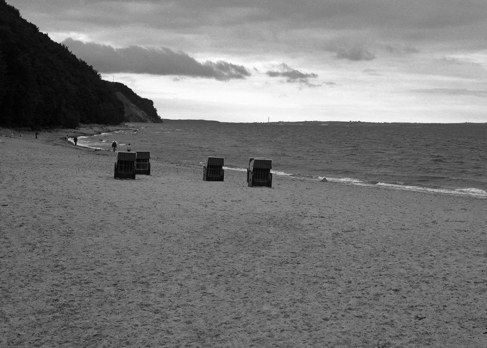 Abendstimmung am Strand von Sellin