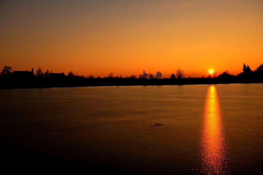 Abendstimmung am Thosti See