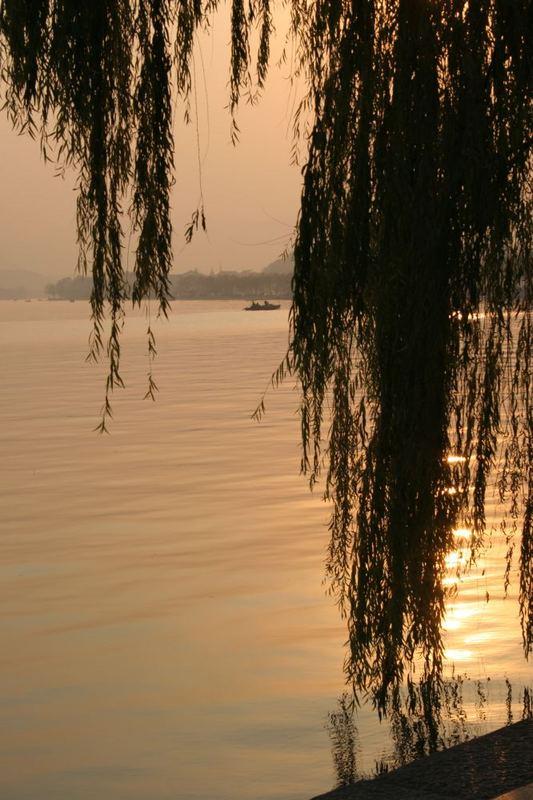 Abendstimmung am West Lake