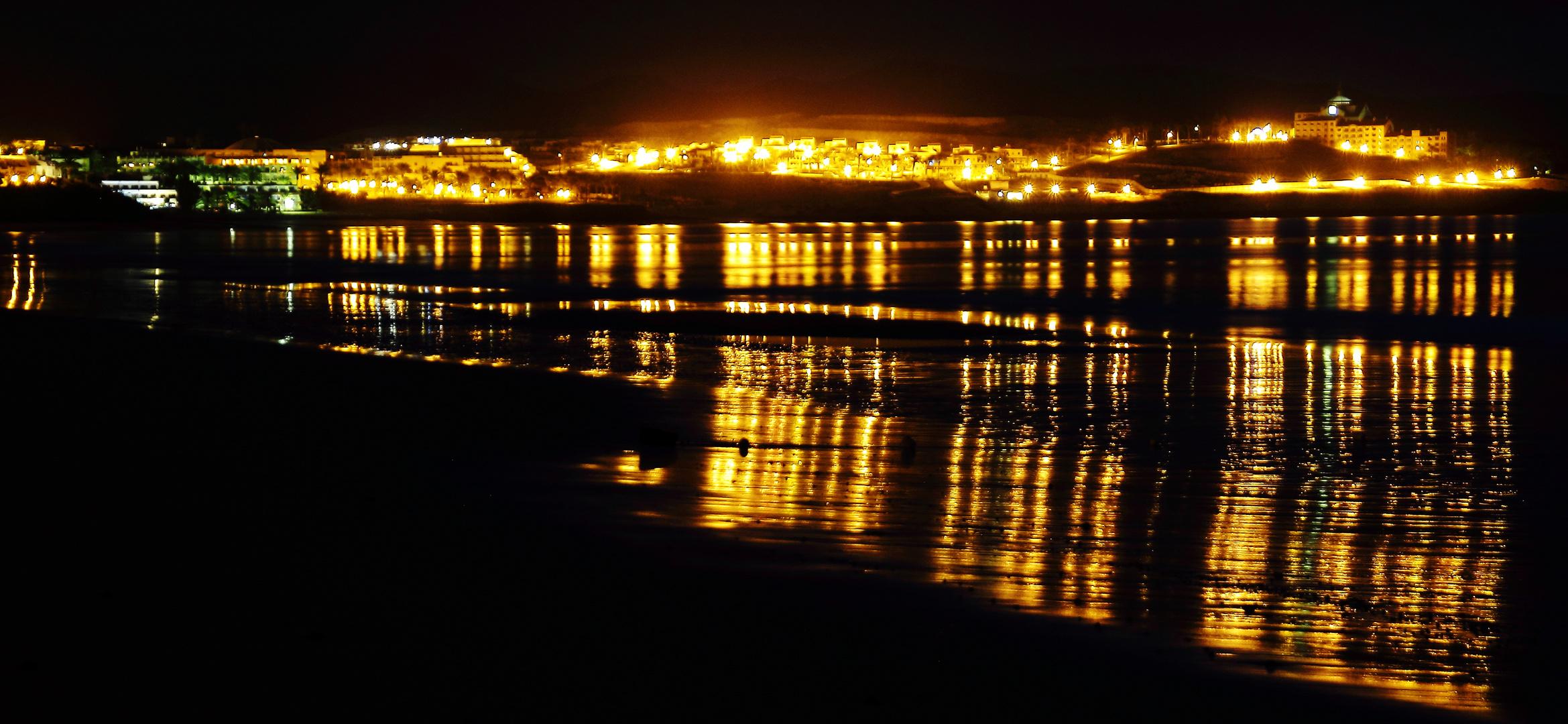 Abendstimmung an der Küste von Fuerteventura