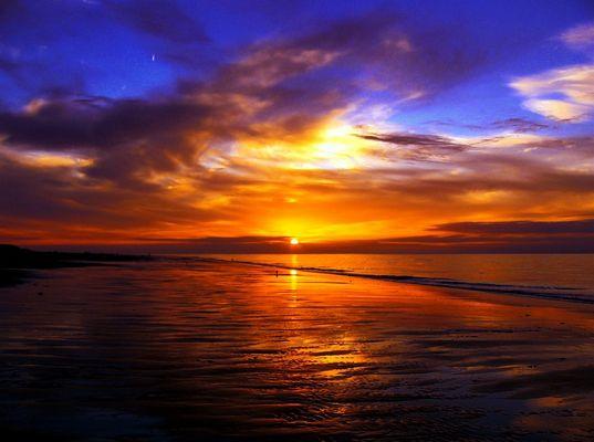 Abendstimmung an der Nordsee..