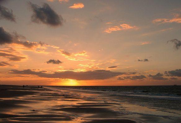 Abendstimmung an der Nordsee... ( NL ) Renesse