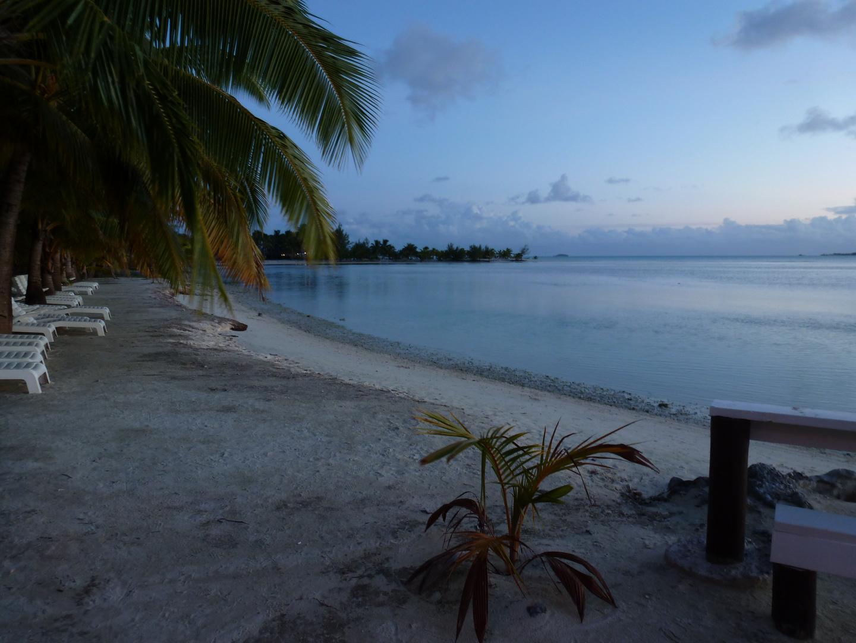 Abendstimmung auf Aitutaki
