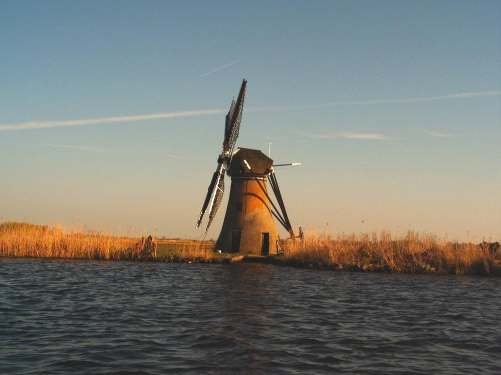 Abendstimmung auf dem Haarlemer Meer/Holland1