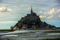 Abendstimmung auf der Mont-St. Michel
