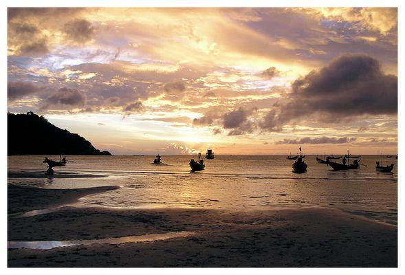 Abendstimmung auf Ko Phi Phi