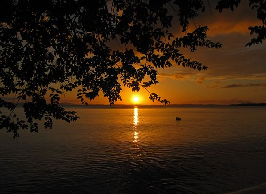 Abendstimmung auf Ometepe