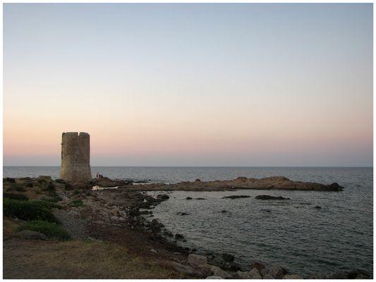 Abendstimmung auf Sardegna