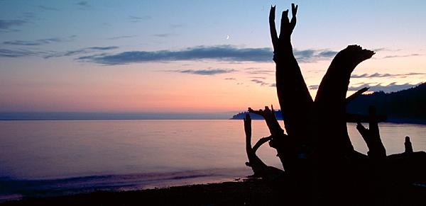 Abendstimmung  French Beach