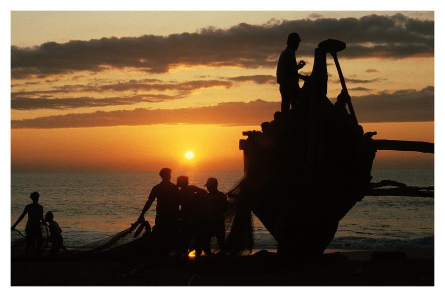 Abendstimmung - Goa Indien