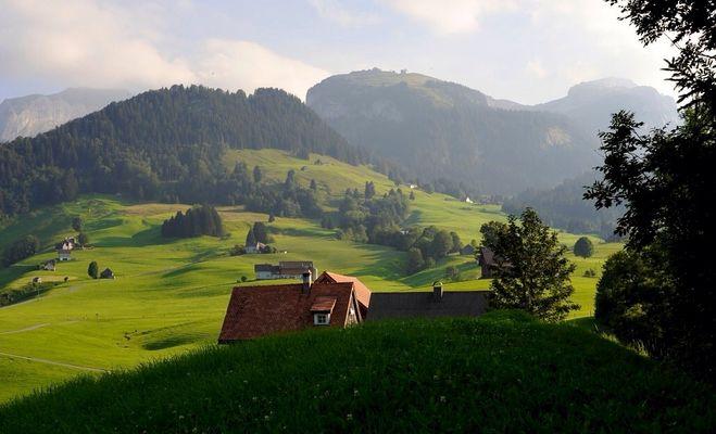 Abendstimmung im Alpstein