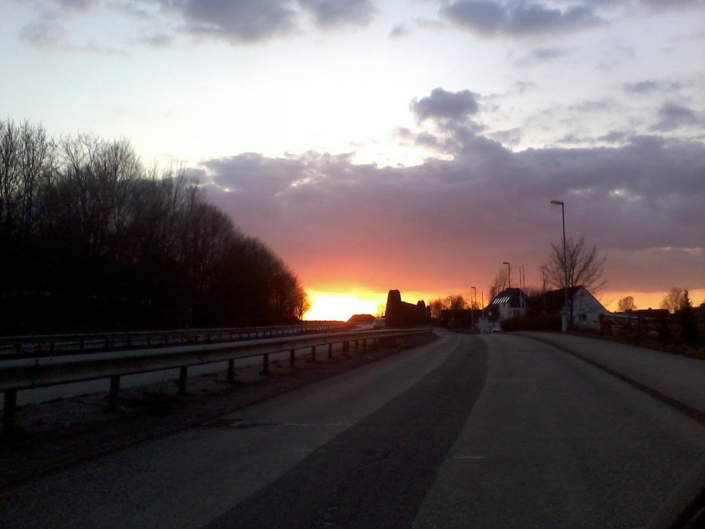 Abendstimmung im April 2013 über Kiel