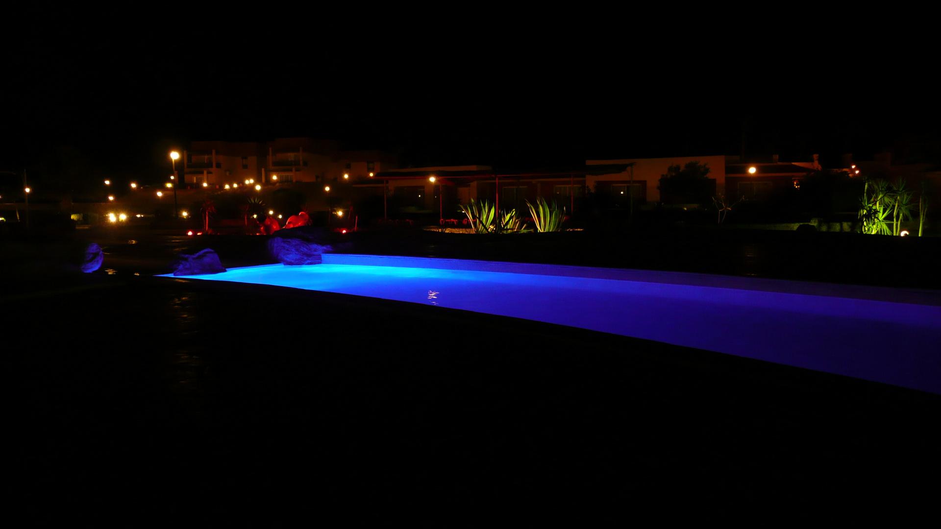 Abendstimmung im Hotel