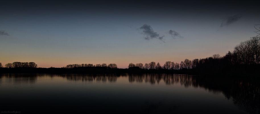 Abendstimmung im Münsterland