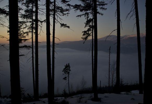 Abendstimmung im Riesengebirge