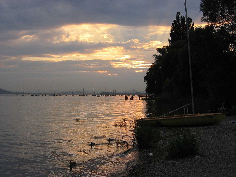 Abendstimmung in Allensbach am Bodensee