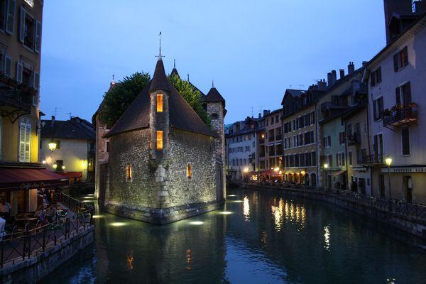 Abendstimmung in Annecy