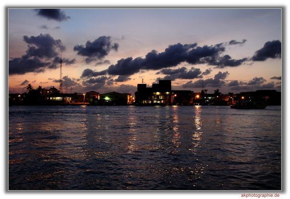Abendstimmung in Belize City