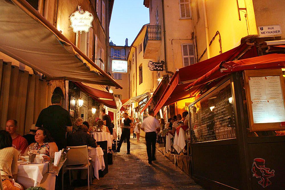 Abendstimmung in Cannes