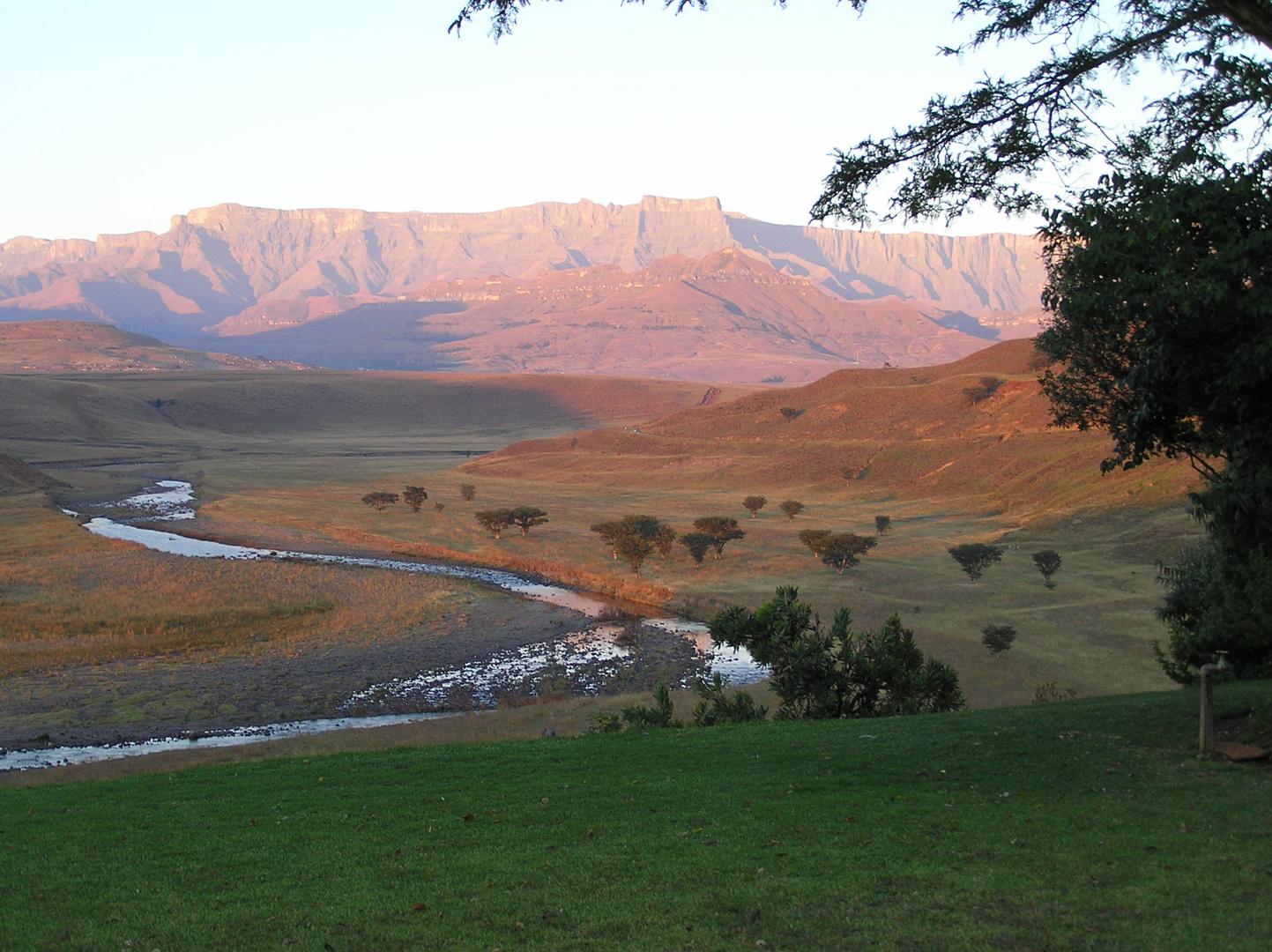 Abendstimmung in den Drakensbergen